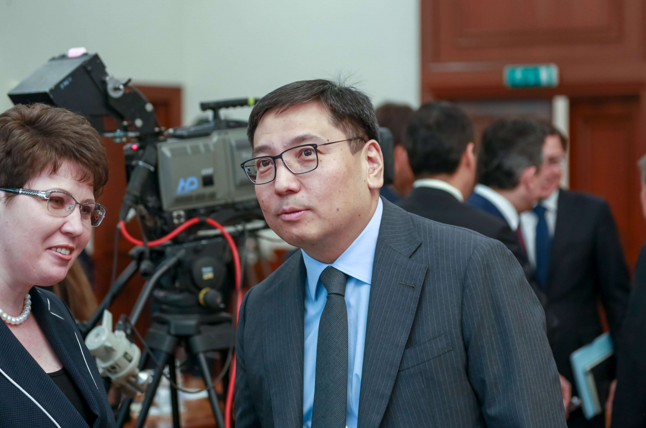 Заместитель премьер-министра Ерболат Досаев