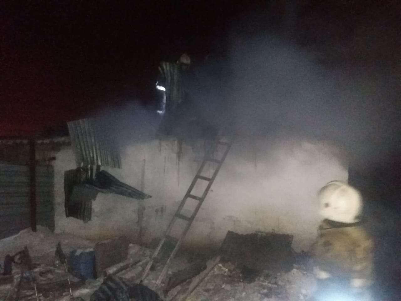 Пожар ликвидировали через 50 минут после вызова