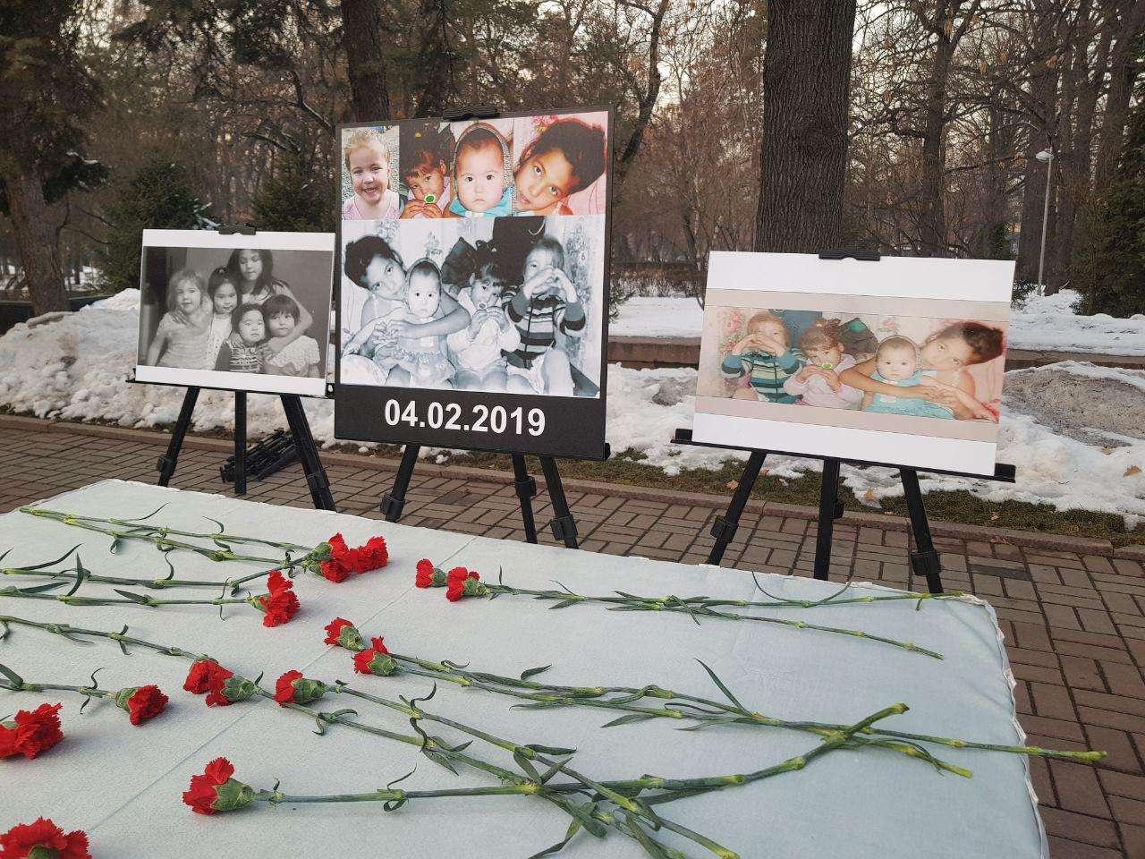 Алматинцы почтили память о погибших детях