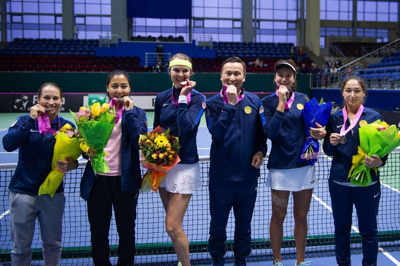 Победители азиатской квалификации Кубка Федерации