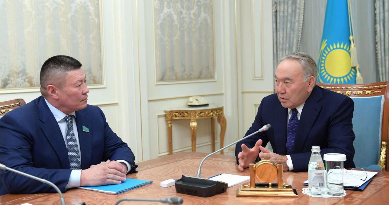 Президент Казахстана встретился с Бахытбеком Смагулом