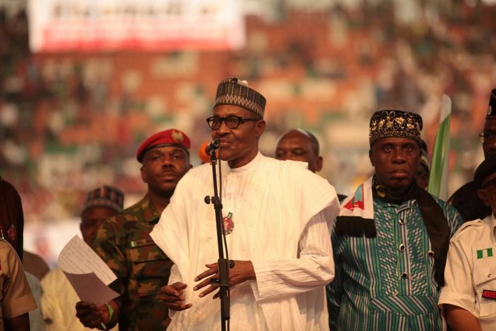 Президент Нигерии баллотируется на второй срок