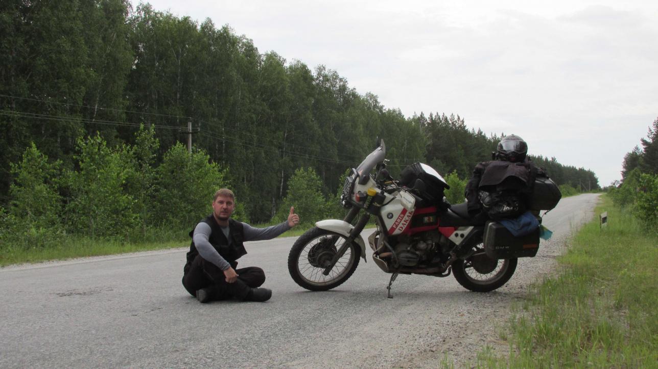 Артем мотоциклмен саяхаттаған кезін сағынады