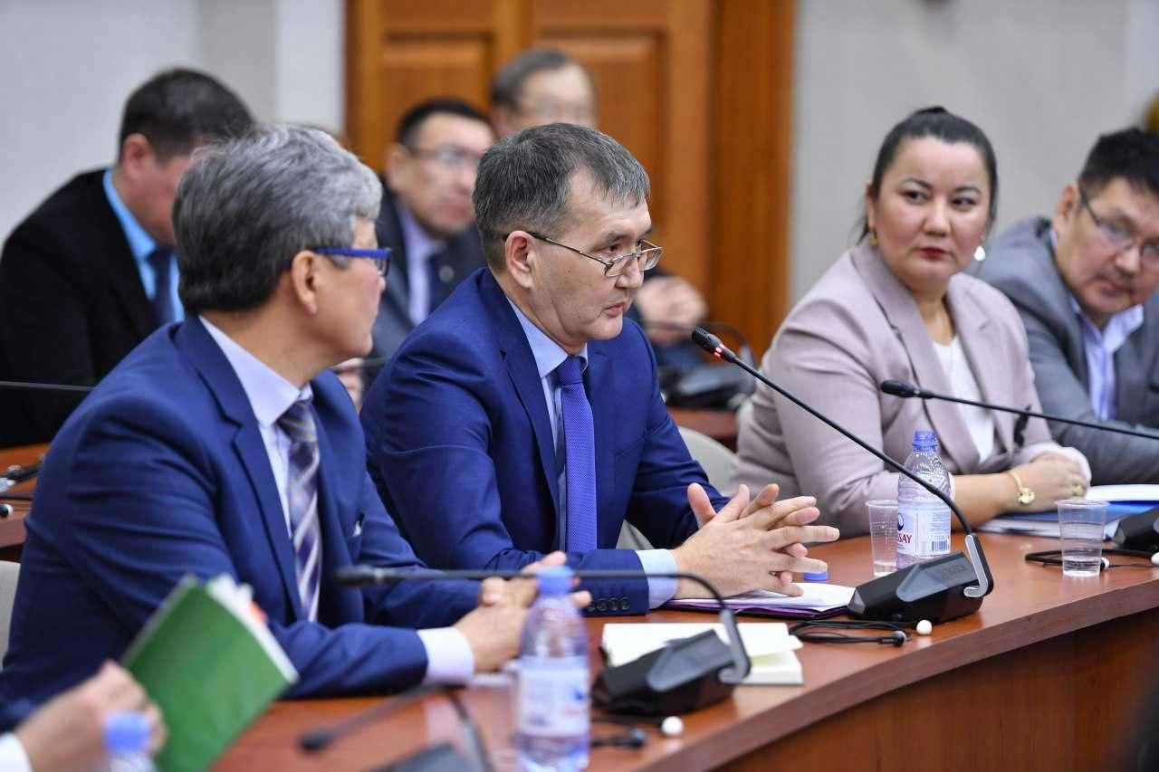 Жанибек Кожык, Ерлан Калиев и Айгуль Орынбек