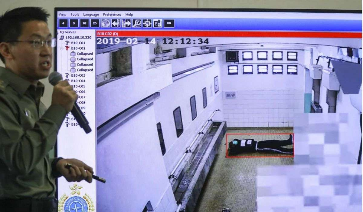 Система видеонаблюдения в туалетах