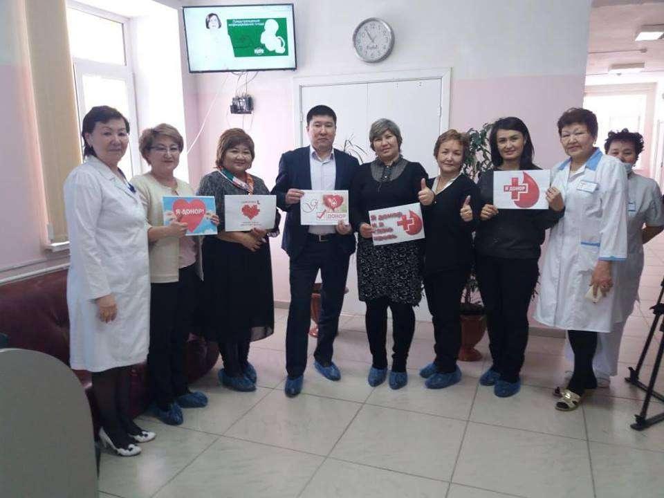 В акции по сдаче крови приняли участие сотрудники всех ЦОНов страны