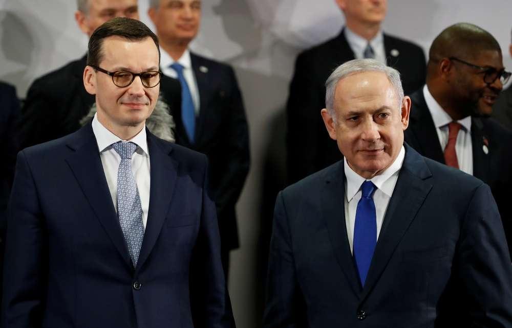 Премьер-министры Польши и Израиля