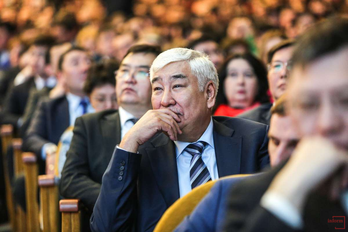 Отчёт акима Алматы