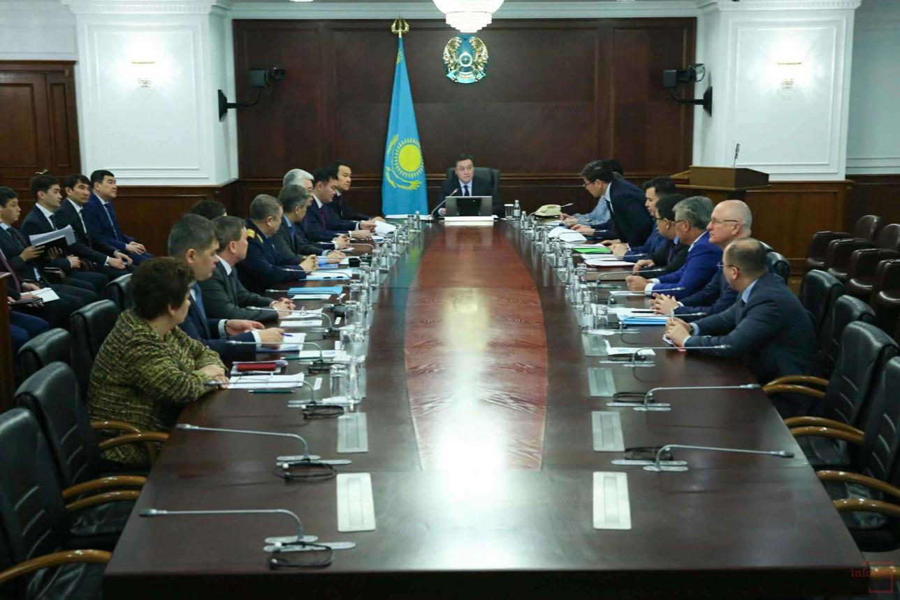 Первое заседание Правительства в новом составе