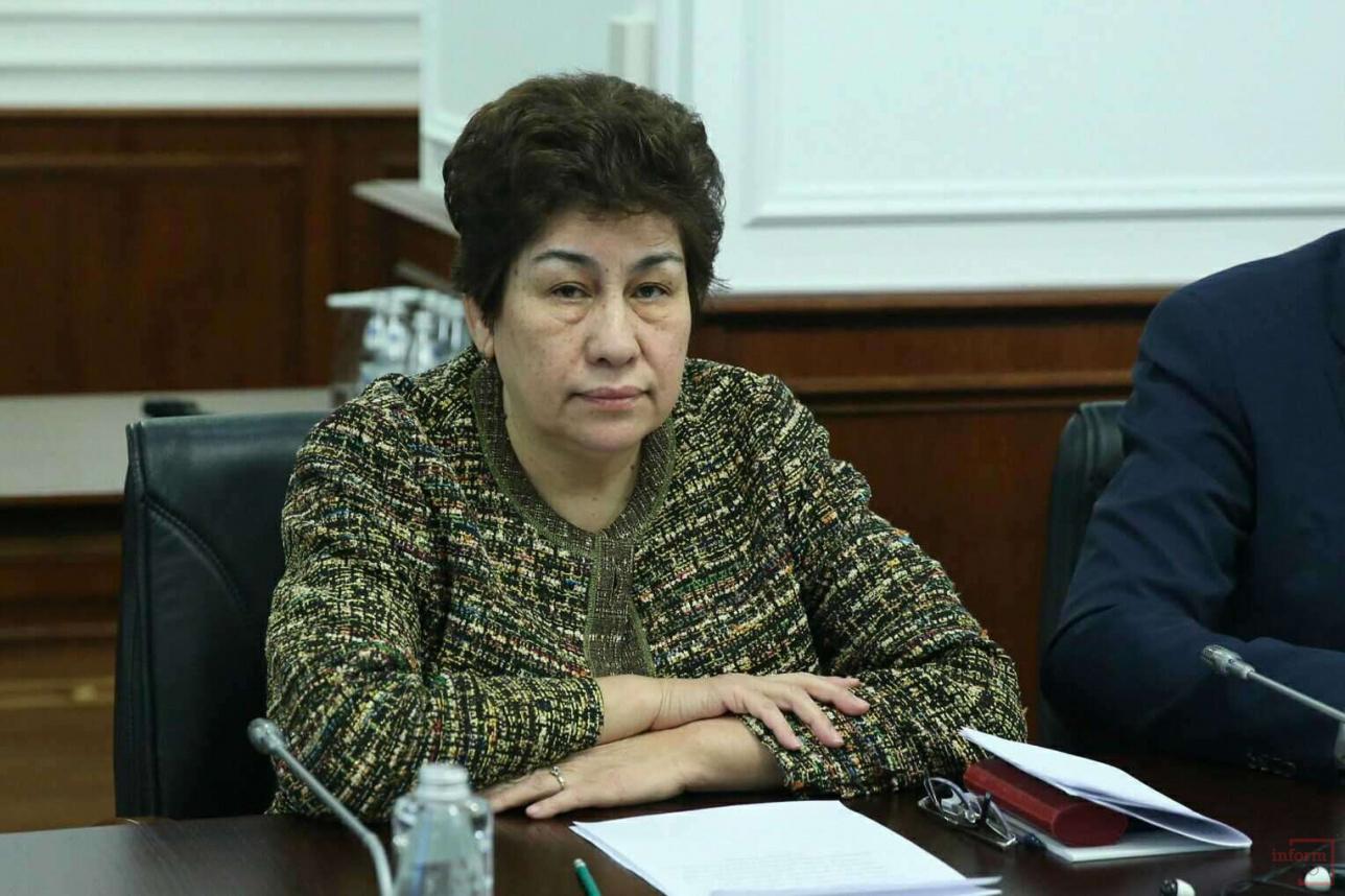 Министр образования и науки Куляш Шамшидинова