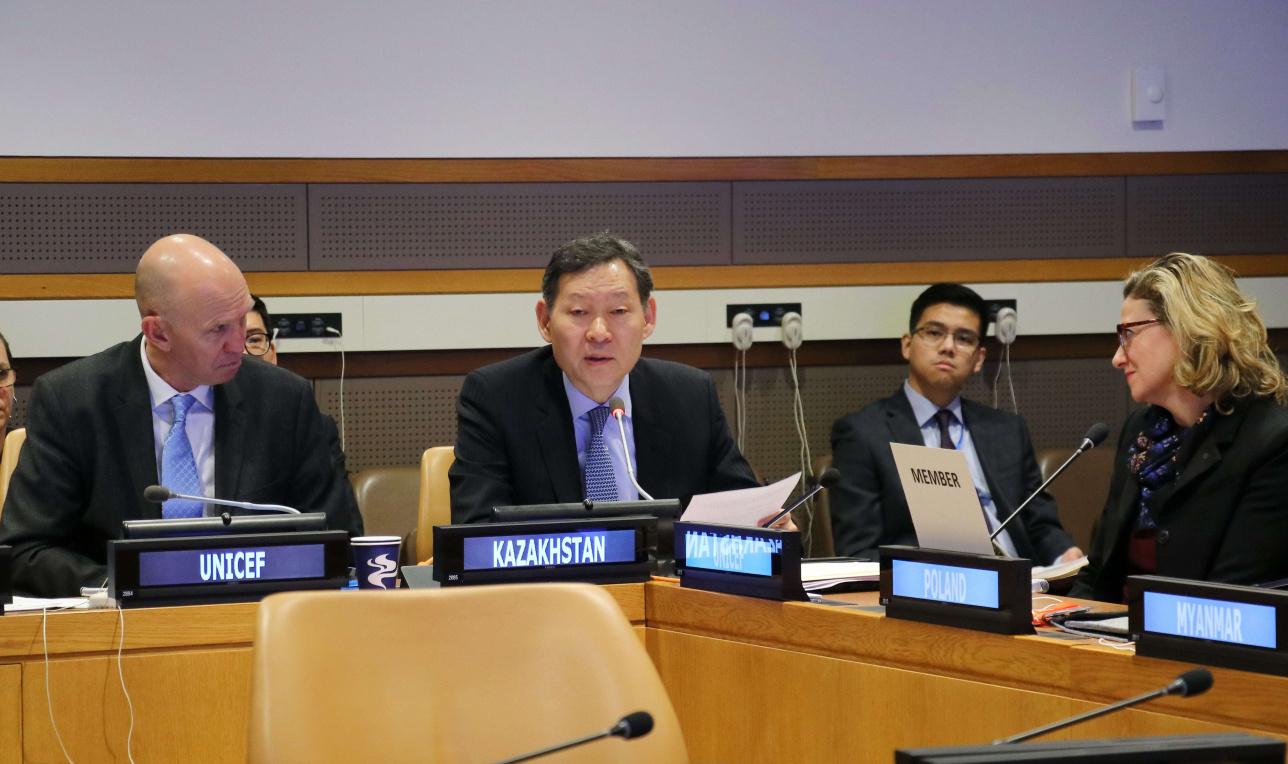 Кайрат Умаров на заседании Группы друзей ООН