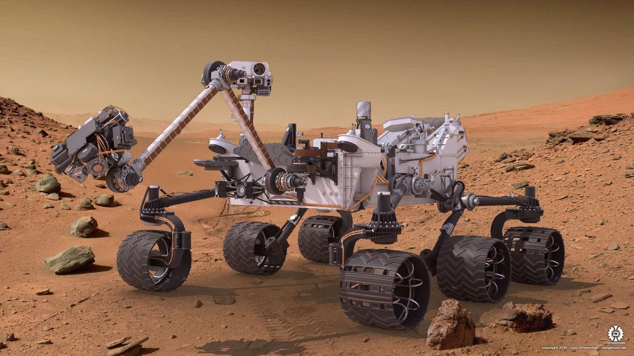 АҚШ-тың Марста жүрген машинасының түрі