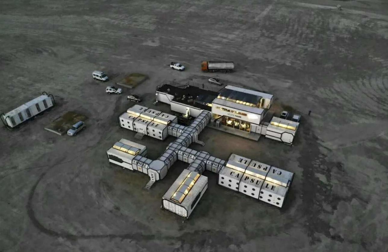 База имитации Марса расположена в пустынной части северо-западной провинции Цинхай