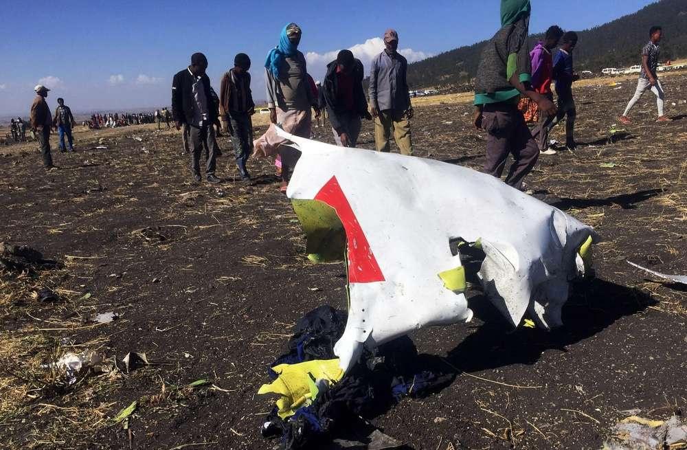 Обломки Boeing-737