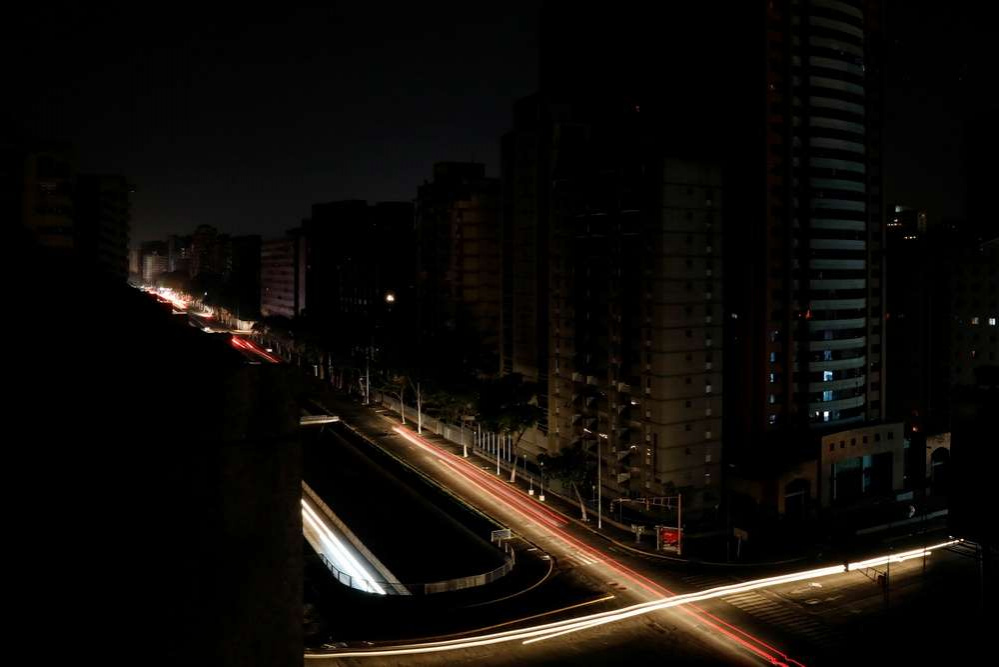 Каракас без света