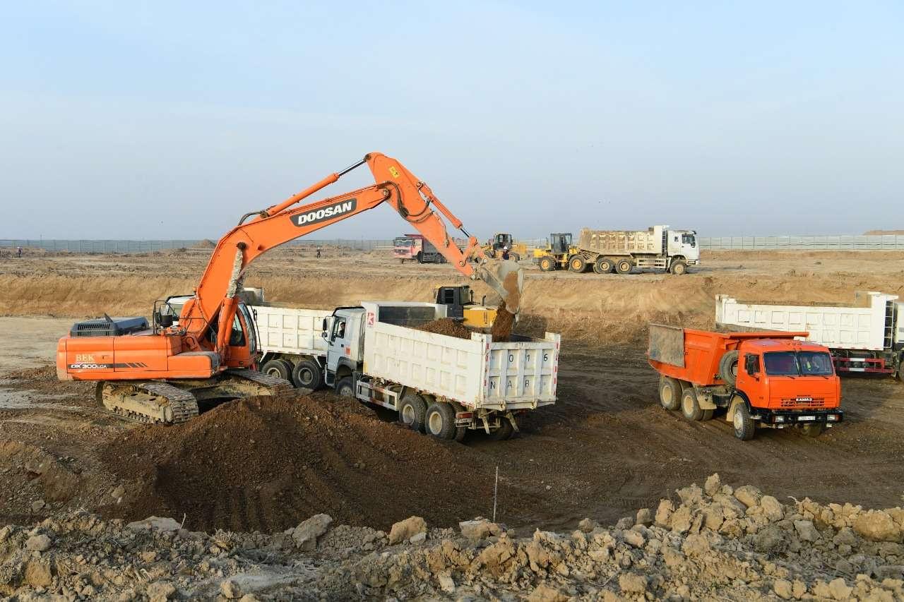 Туркестан превратился в одну большую стройплощадку