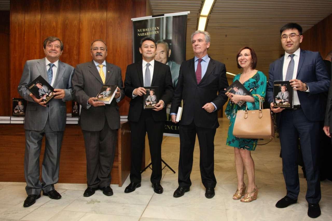Книга Назарбаева впервые издана на португальском языке