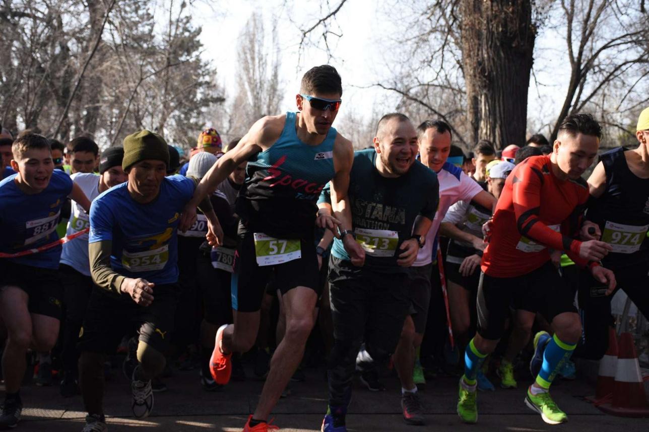 Весенний забег в Алматы