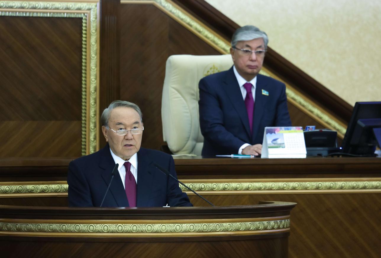 Полномочия Президента переходят к Касым-Жомарту Токаеву