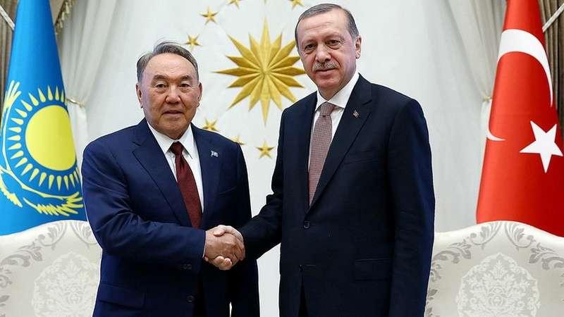 Нурсултан Назарбаев и Реджеп Тайип Эрдоган