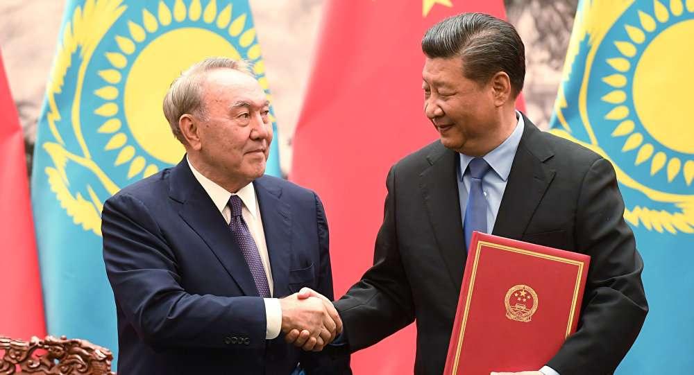 Лидеры Казахстана и Китая на встрече в Пекине