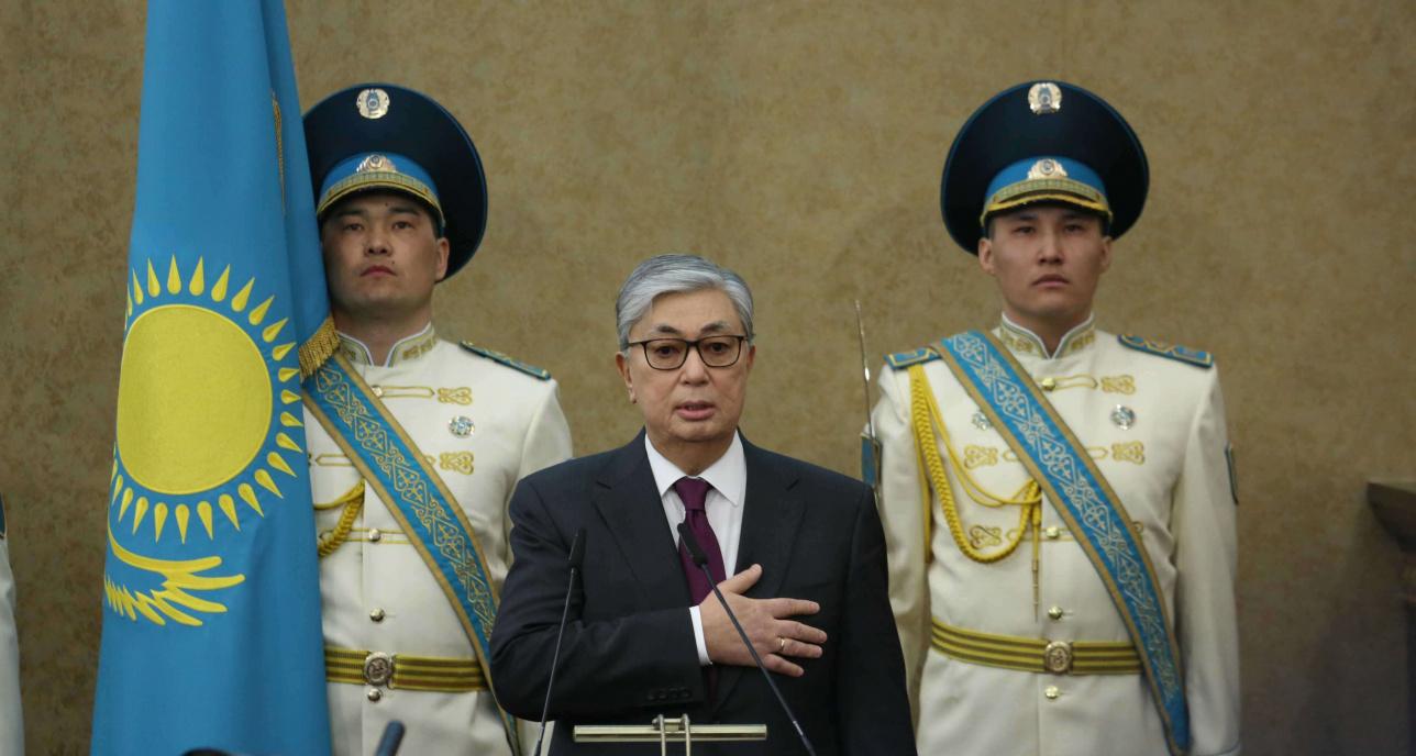 Касым-Жомарт Токаев вступает в должность президента