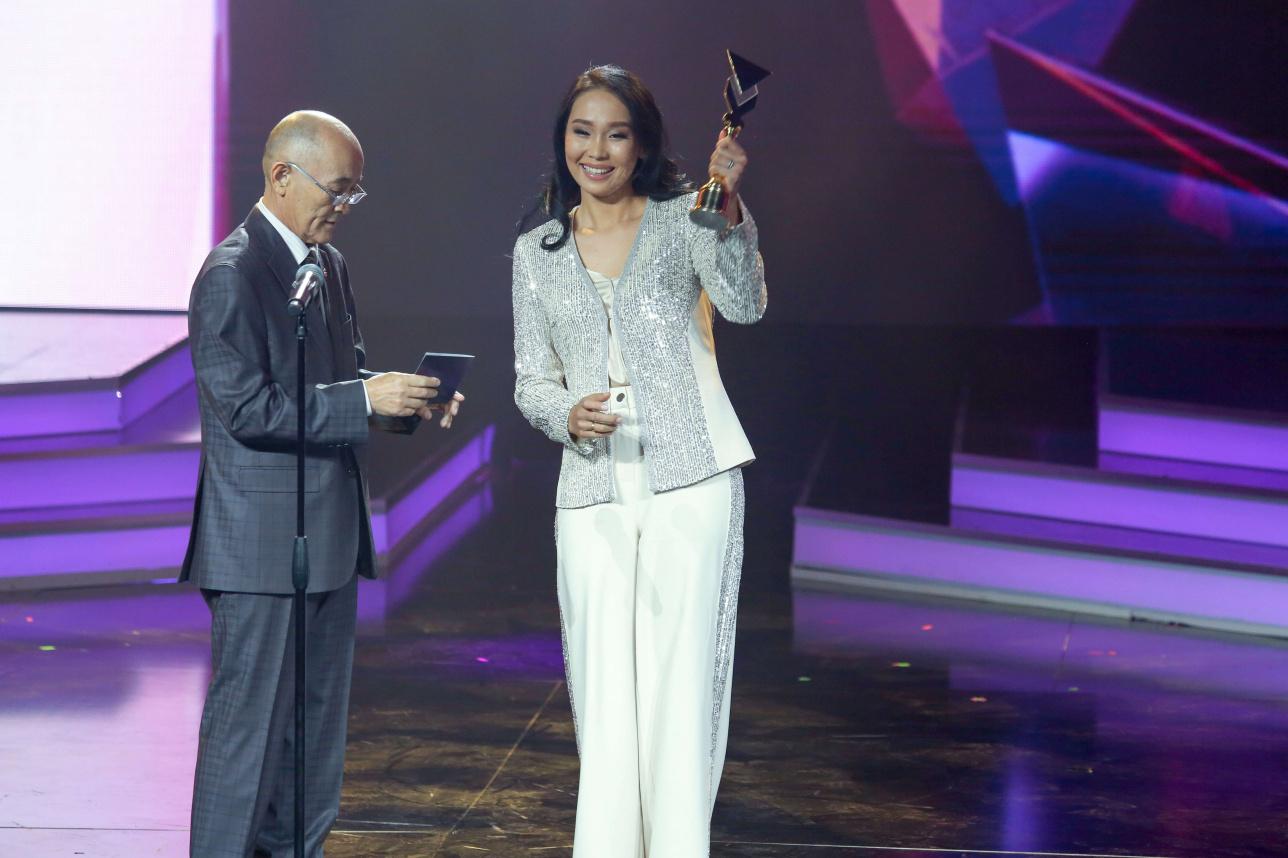 Аида Боранбай стала лучшей телеведущей страны