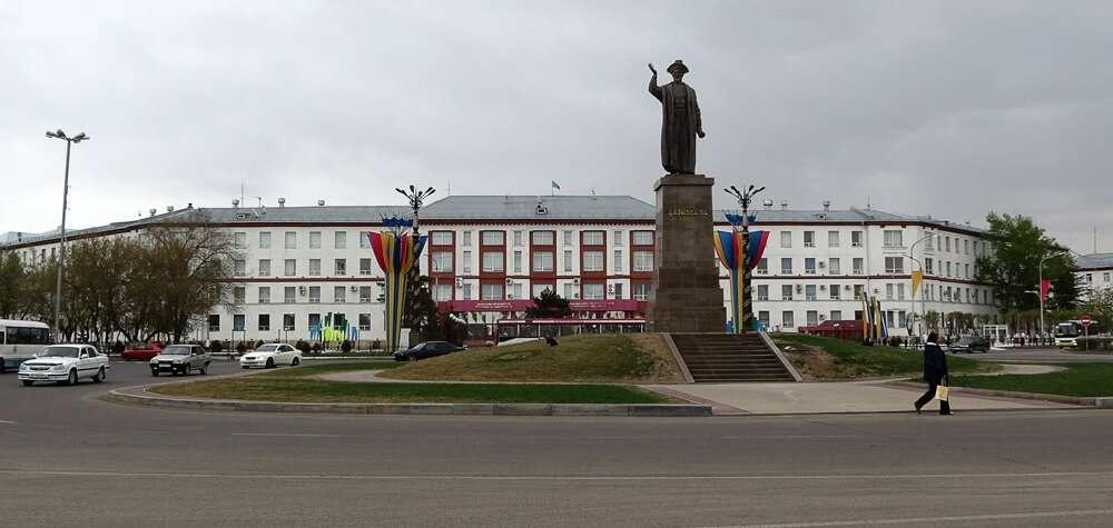 Проспект Назарбаева в Караганде