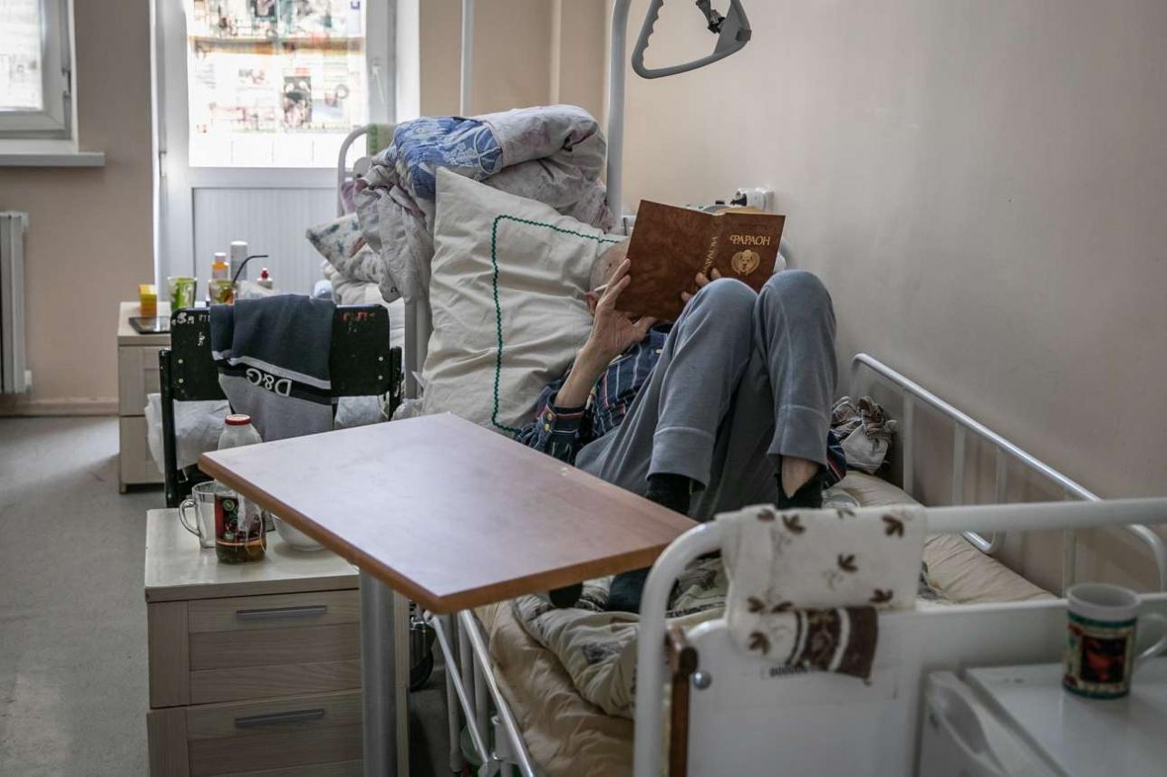 Пациент гериатрического отделения
