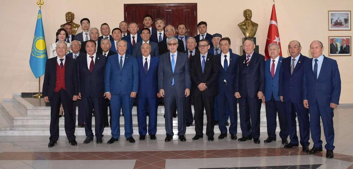 Глава государства посетил Шымкент