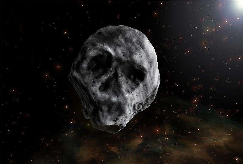 """""""Бас сүйек"""" аталған астериод 2018 жылы Жерге жақындап өтті"""