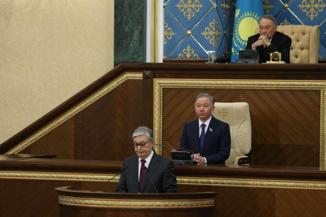 Церемония вступления Касым-Жомарта Токаева в должность Президента РК 20 марта 2019 года