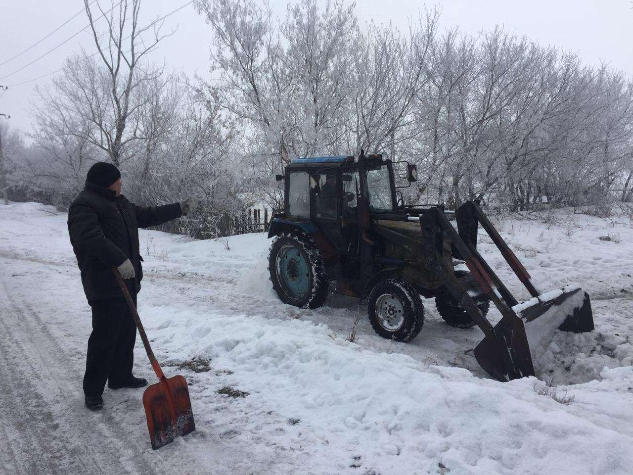 К концу марта Северный Казахстан всё ещё укрыт снегом