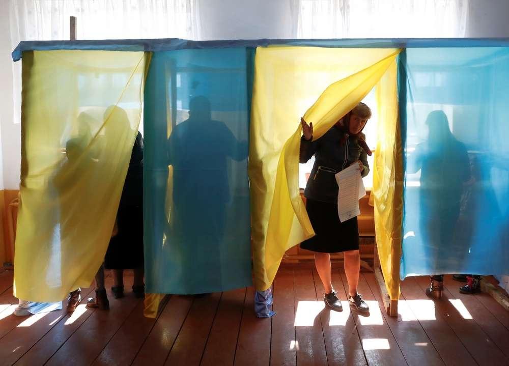 31 марта в Украине прошли выборы президента