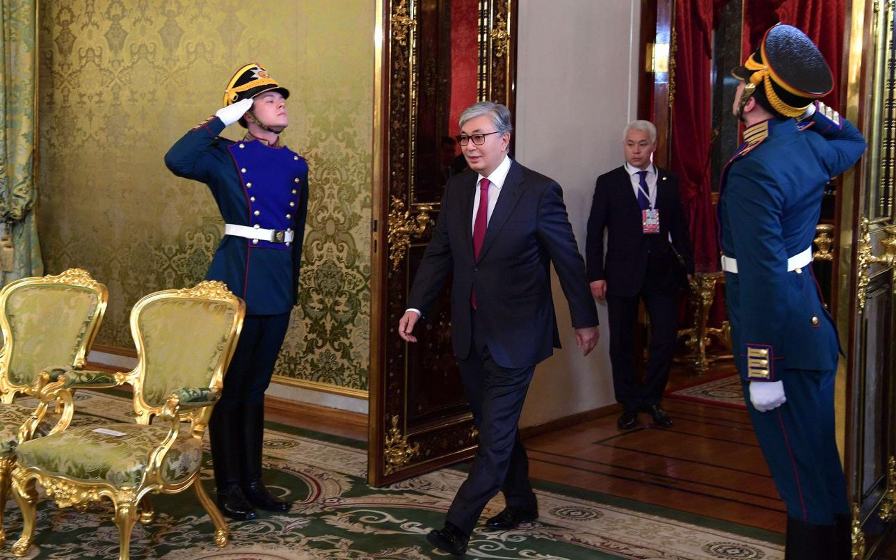 Касым-Жомарт Токаев прибыл с официальным визитом в Россию