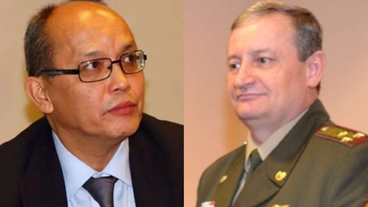 Марат Кынатов и Владимир Беккер