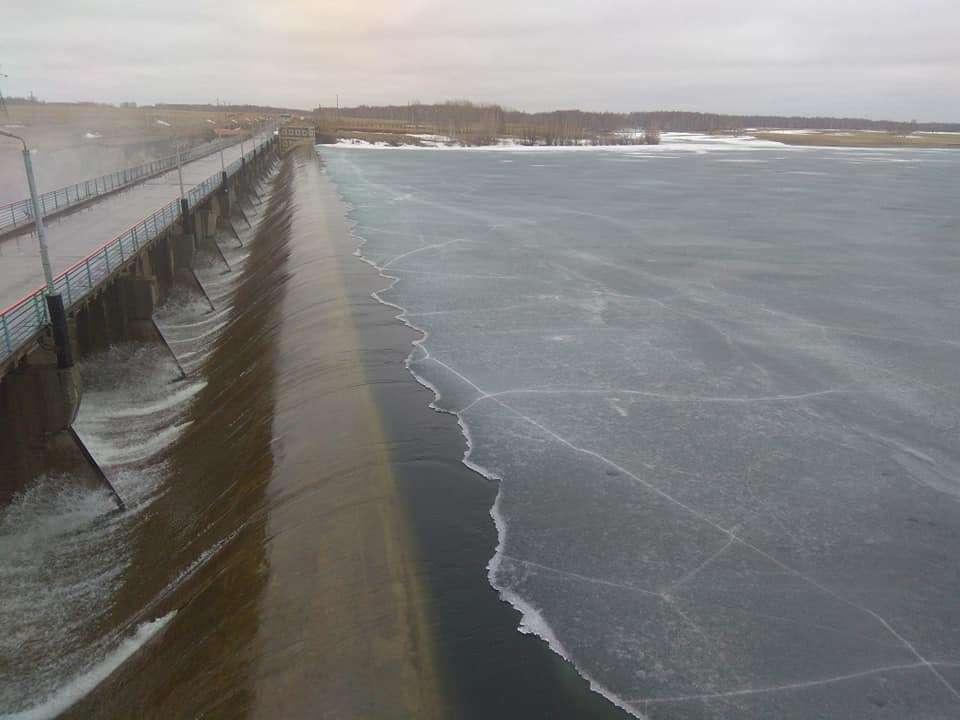 Плотина Сергеевского водохранилища