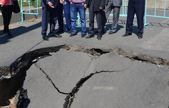 На месте ЧП в Павлодаре.