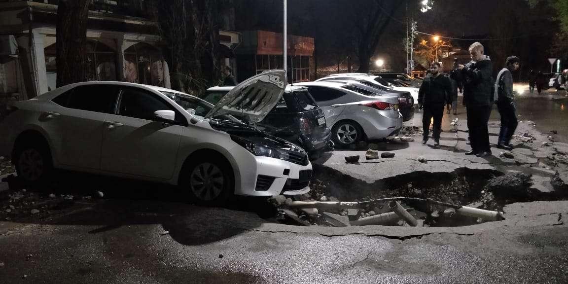 Повреждённые автомобили