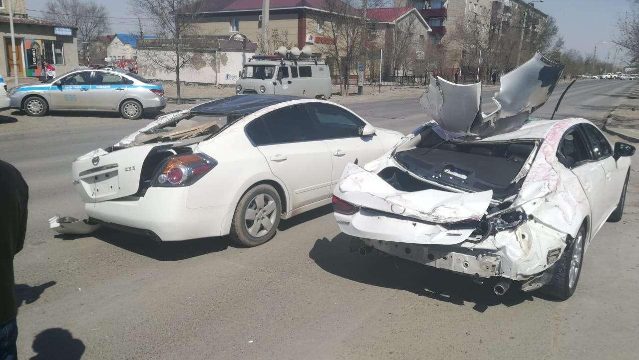 Повреждённые авто