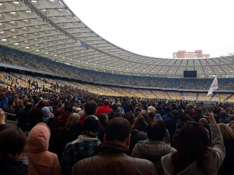 Послушать дебаты пришли более тысяч украинцев