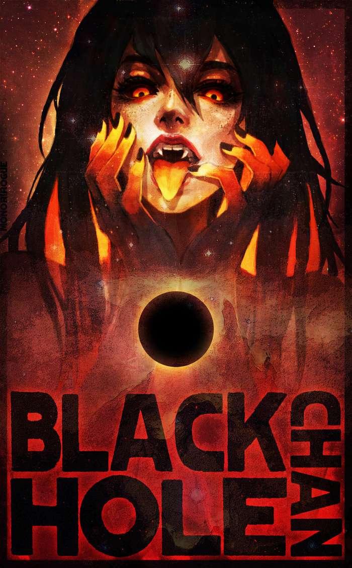 Хуманизация фотографии чёрной дыры