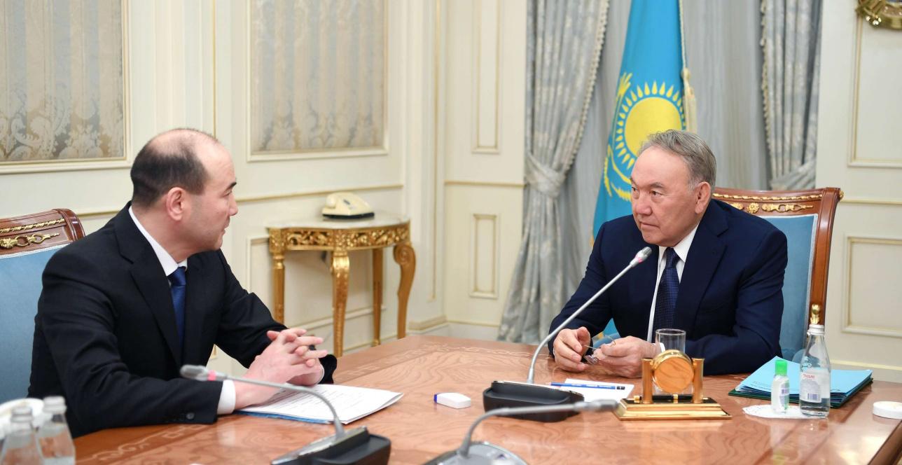 Назарбаев провёл встречу с генпрокурором