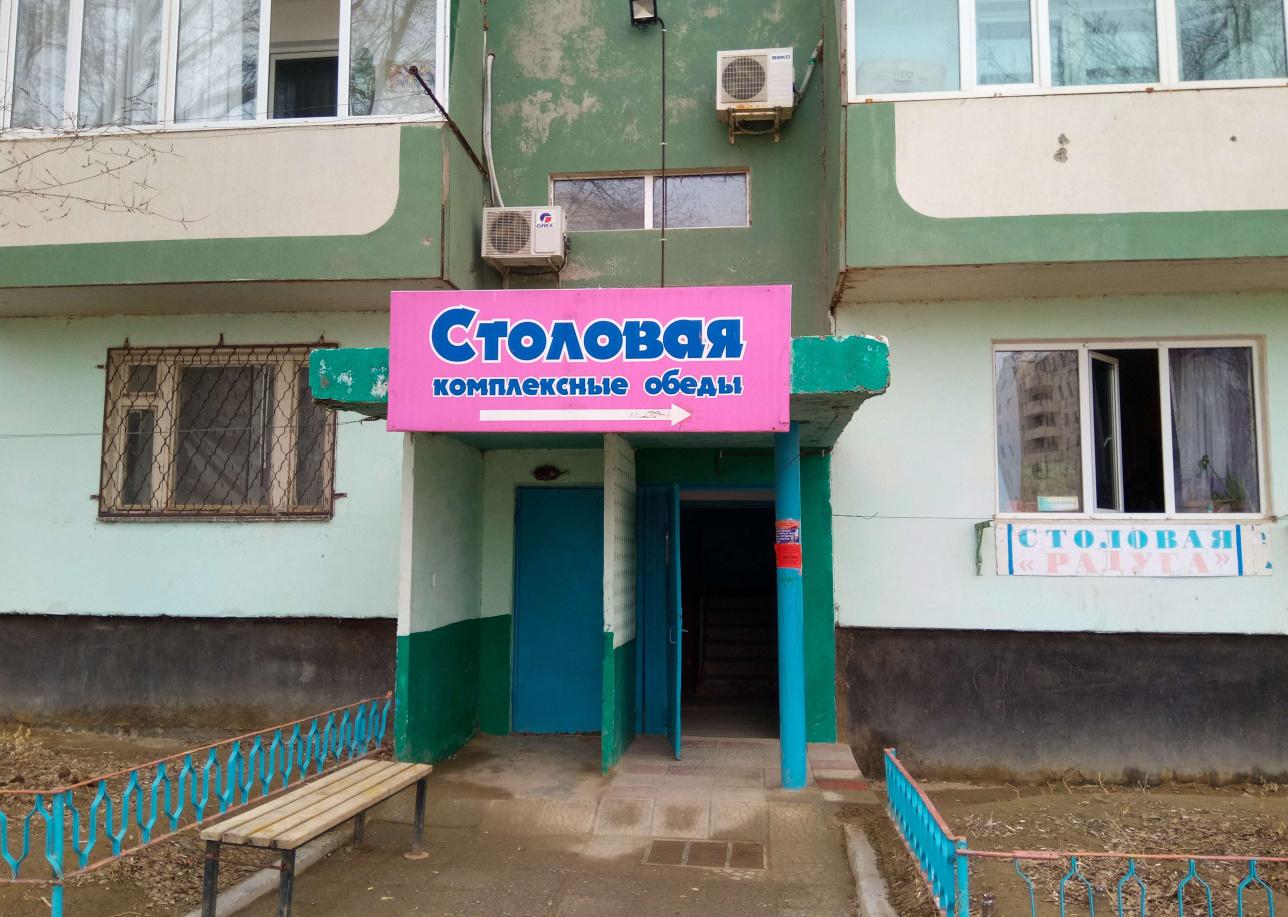 Столовая, где нет посетителей