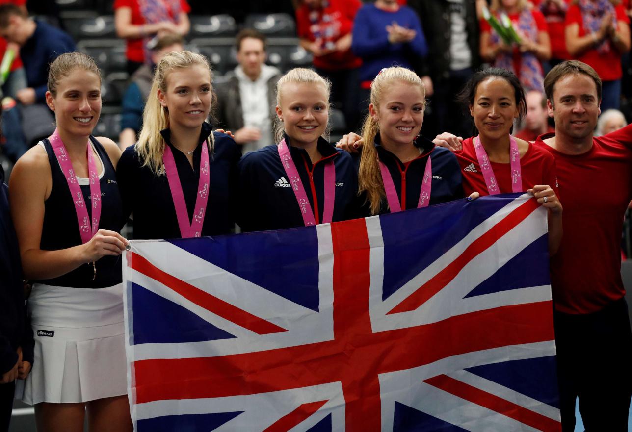 Английские теннисистки