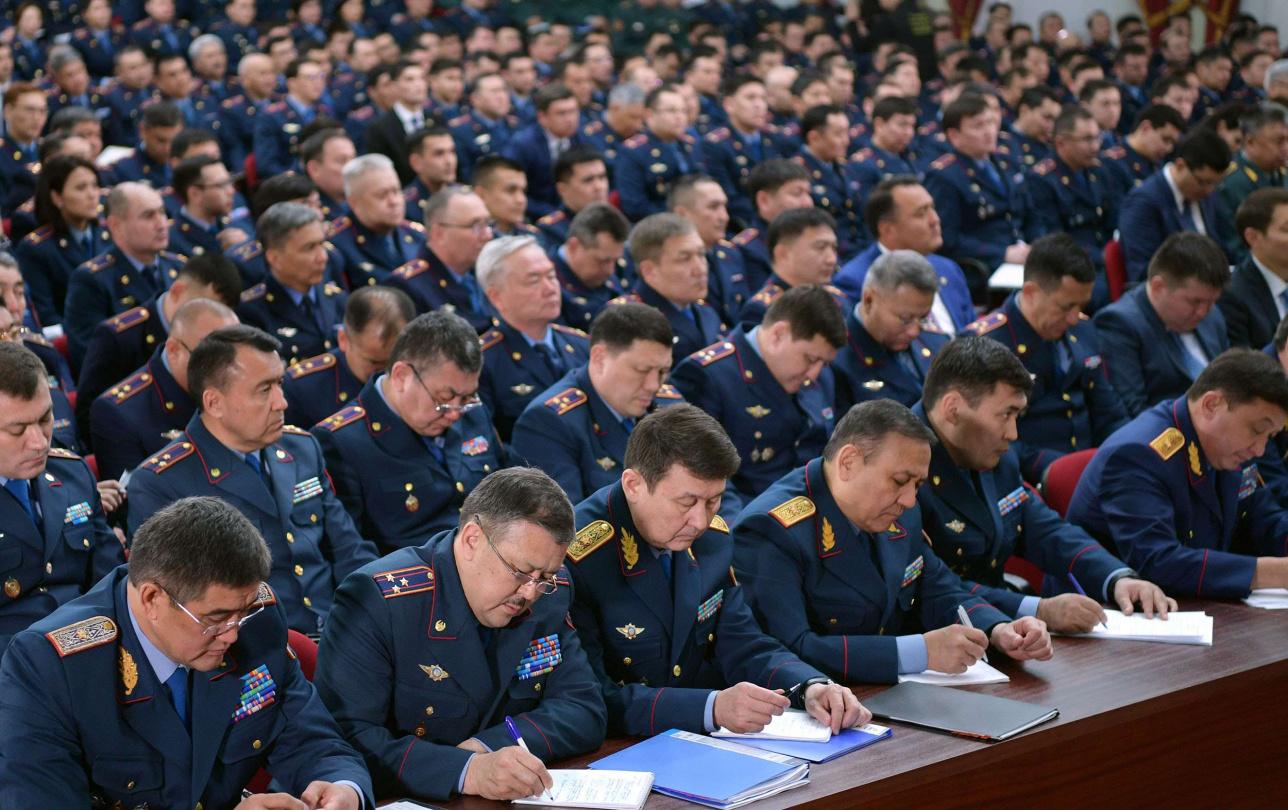 Расширенное заседание коллегии МВД