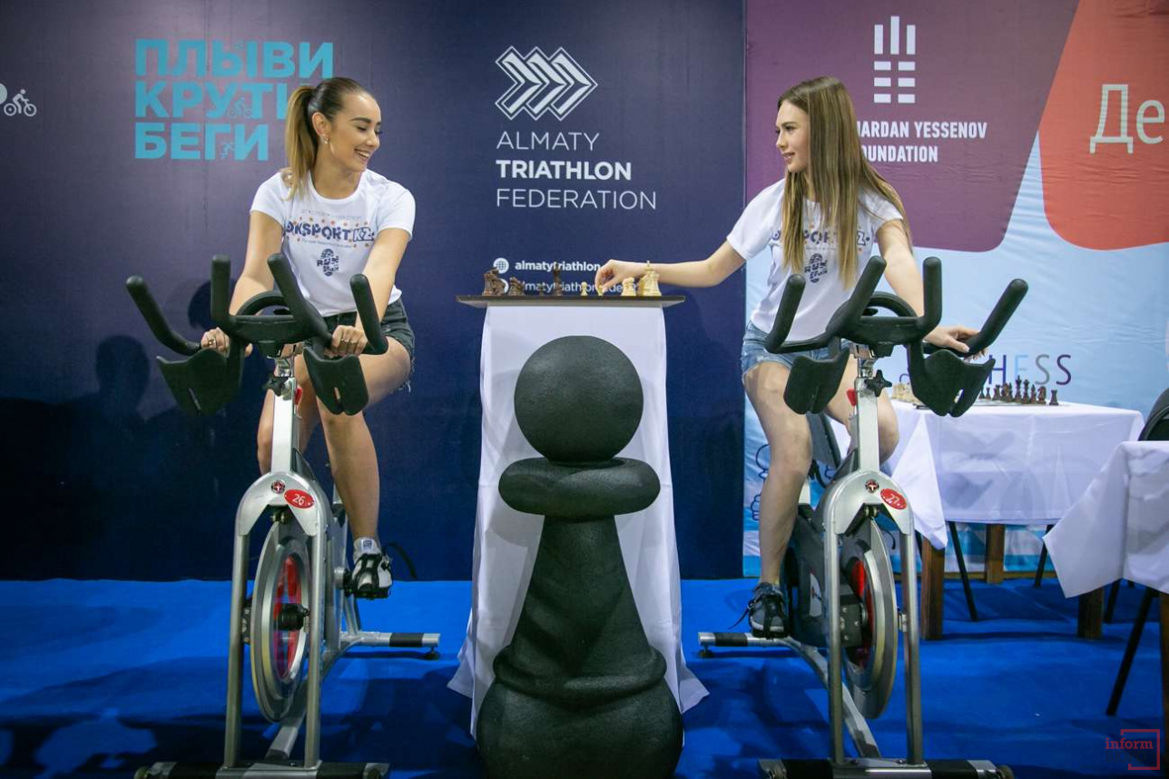 Партия по велошаху в Алматы