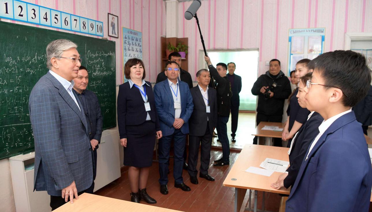 В Казахстане созданы все необходимые условия для получения качественного образования, отметил Токаев