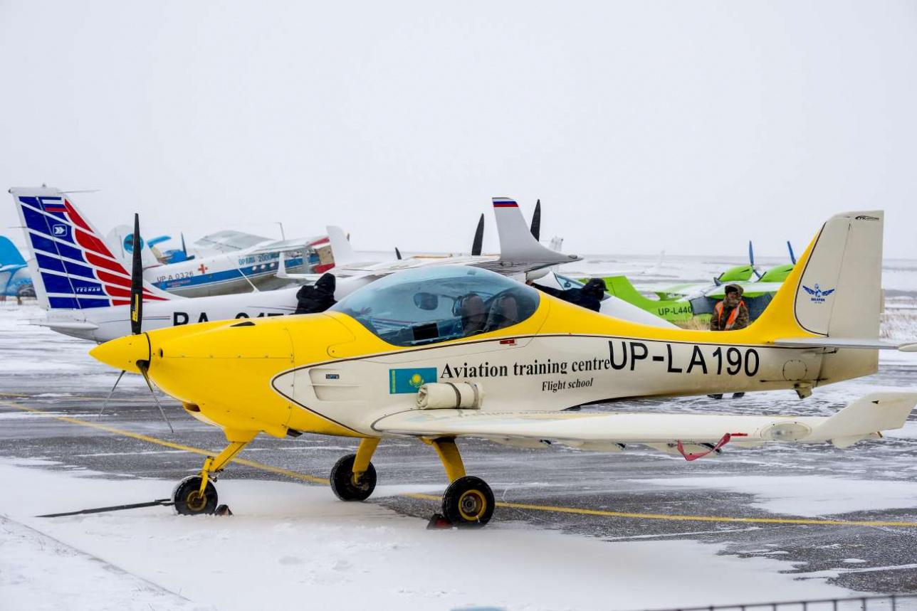 Воздушное судно выполняло тренировочный полёт