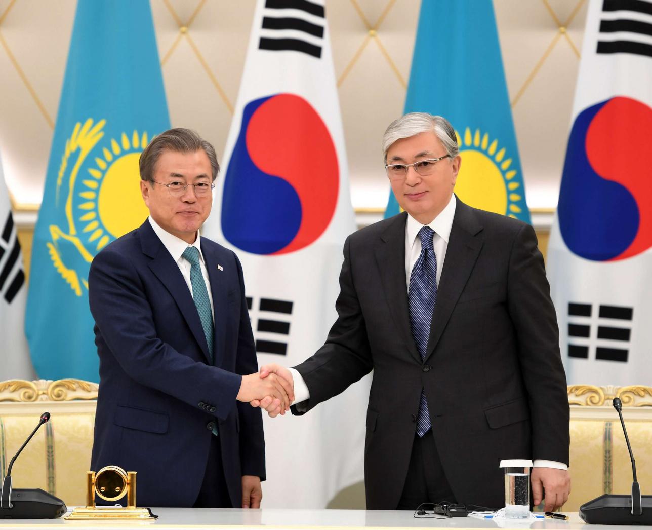 По итогам государственного визита главы Кореи в Казахстан были приняты и подписаны восемь документов